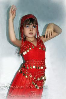 костюм восточной принцессы фото