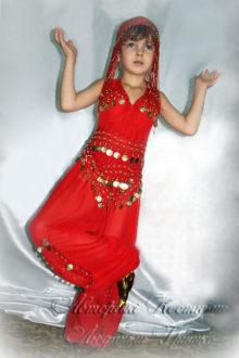 авторский костюм восточной принцессы фото