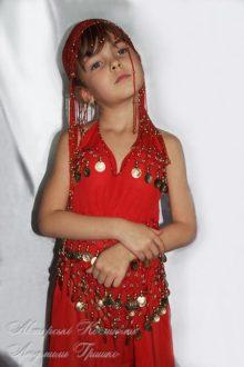карнавальный костюм восточной принцессы фото
