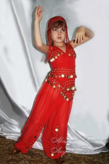новогодний костюм восточной принцессы для девочки фото