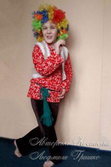 авторский карнавальный костюм Домового фото