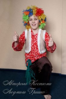 авторский карнавальный костюм для мальчика фото