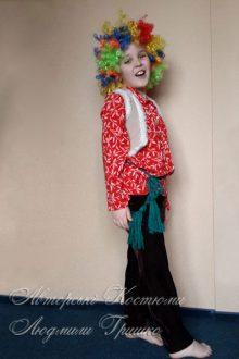 детский костюм домового фото