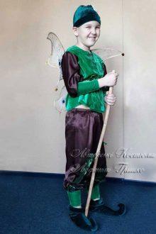 костюм эльфа для мальчика фото вид сбоку