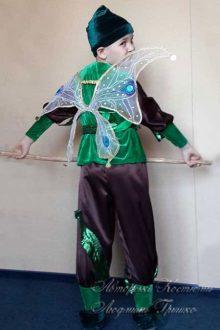 костюм эльфа для мальчика фото вид сзади