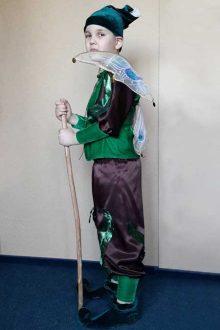 авторский костюм эльфа для мальчика фото