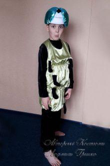 авторский костюм гусеницы для мальчика фото