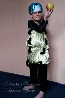 карнавальный костюм гусеницы для мальчика фото