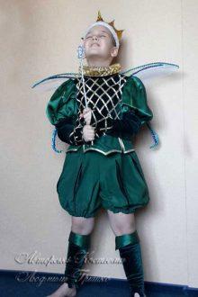 фото авторского карнавального костюма короля эльфов