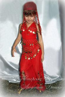 костюм восточной принцессы для девочки на праздник осени фото