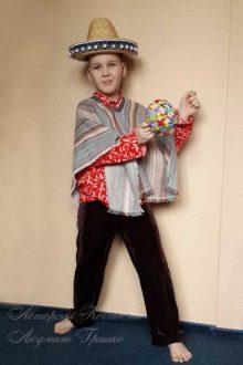 детский мексиканский костюм для мальчика фото