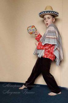 мексиканский костюм для мальчика фото вид сбоку