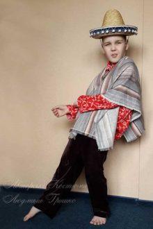 мексиканский костюм для мальчика фото авторского костюма