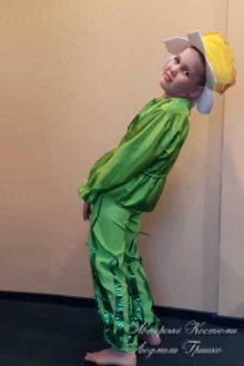 костюм нарцисса для мальчика фото вид сбоку