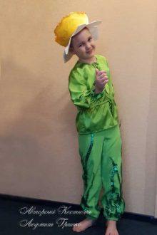 фото авторского костюма нарцисса для мальчика