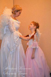 розовый ангел фото белого и розового ангелов