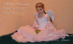 розовый ангел фото костюма для девочки