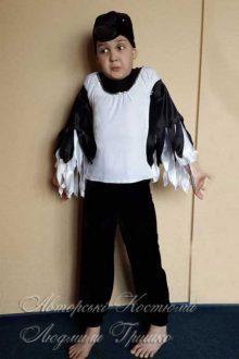 фото карнавальный костюм сороки для мальчика