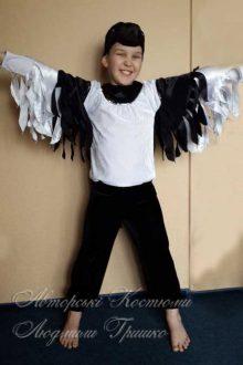 костюм сороки для мальчика фото демонстрация крыльев