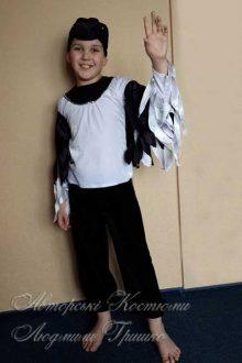 фото авторский костюм сороки для мальчика