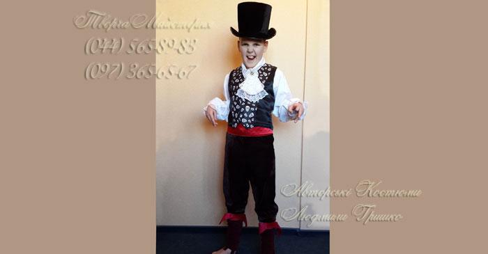 костюм вампира фото карнавального детского костюма
