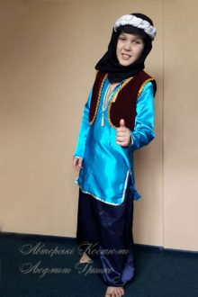 детский восточный костюм для мальчика фото