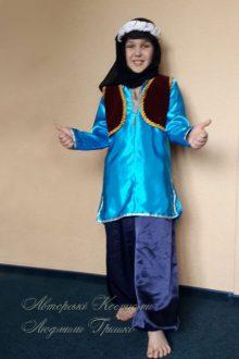 фото детский карнавальный восточный костюм для мальчика