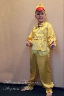 детский костюм утенка фото 422