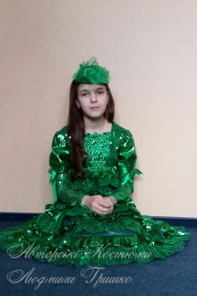 фото детский костюм ёлочки