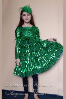 фото новогодний костюм ёлочки