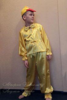 костюм утенка для мальчика фото