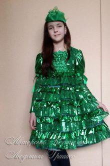 авторский карнавальный костюм ёлочки фото