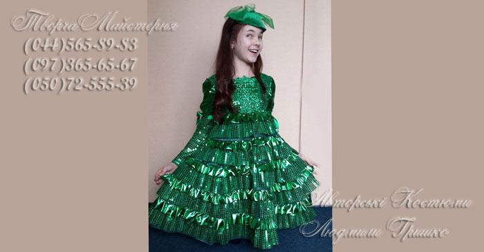 фото карнавальный костюм ёлочки