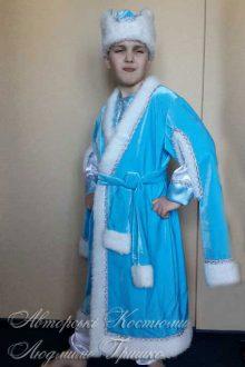 фото авторского костюма Зимнего Месяца