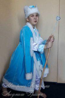 костюм зимнего месяца новогодний детский фото