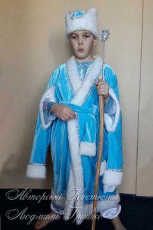 фото карнавального детского костюма зимнего месяца