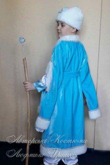костюм зимнего месяца фото со спины