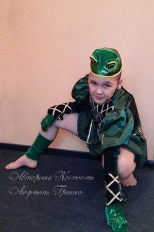 костюм лягушонка на новый год фото