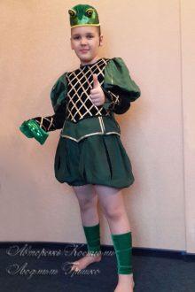 костюм лягушонка фото карнавального костюма