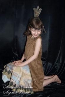 индейский костюм фото