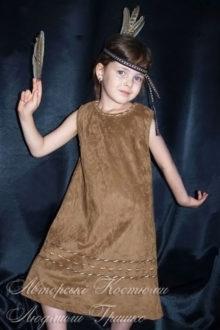 детский индейский костюм фото
