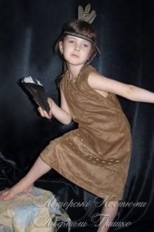 костюм для девочки индейский фото