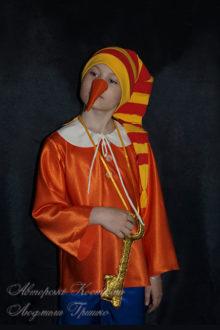 костюм буратино карнавальный фото