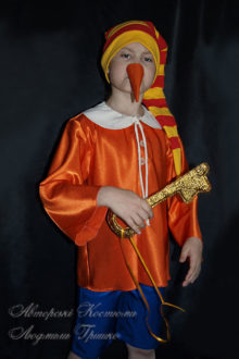 костюм буратино фото с ключиком