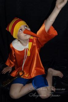 костюм буратино маскарадный детский фото