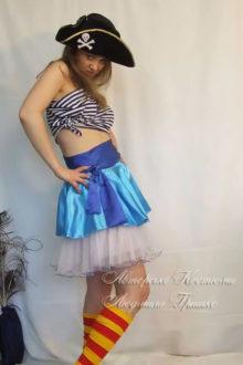 костюм пиратки взрослый женский карнавальный фото