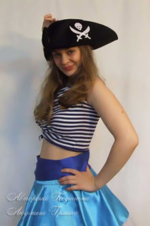 костюм пиратки взрослый маскарадный фото