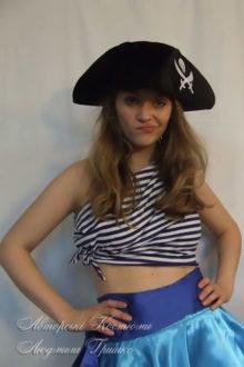 костюм пиратки взрослый на Хеллоуин фото