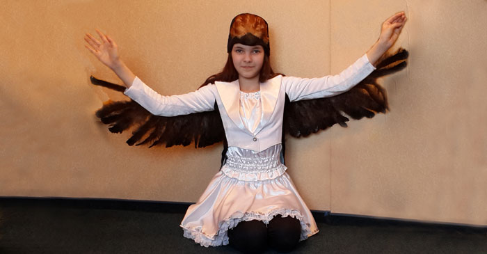костюм ласточки для девочки фото