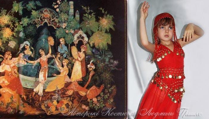 сказка о принцессе Лейле фото костюм восточной принцессы